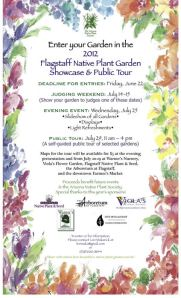 Flagstaff Native Plant Garden Showcase and Public Tour