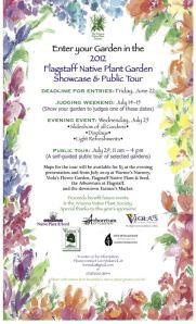 Flagstaff Native Plant Garden Showcase and Public Tour